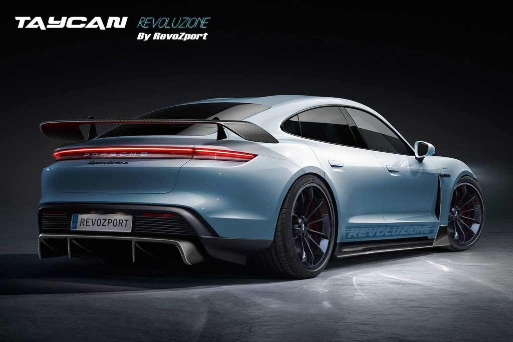 Porsche Taycan с обвесом от RevoZport