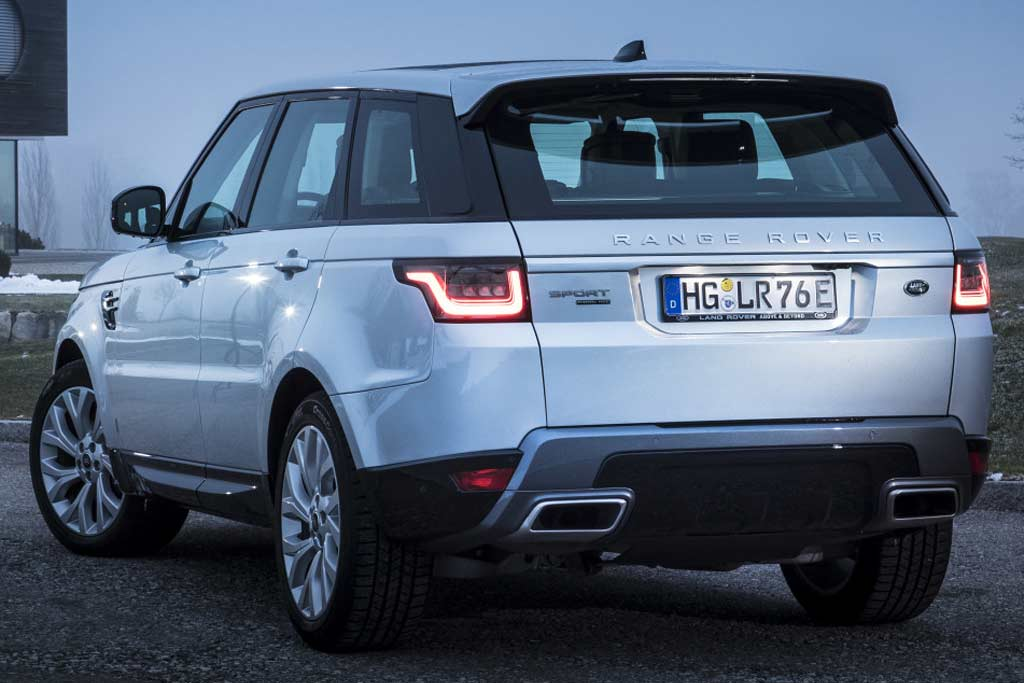 Range Rover Sport 2021 в новом кузове