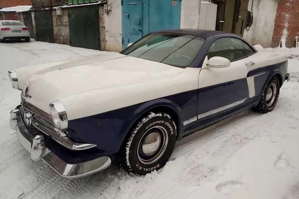 """Lexus SC 430 в стиле ГАЗ-21 """"Волга"""""""