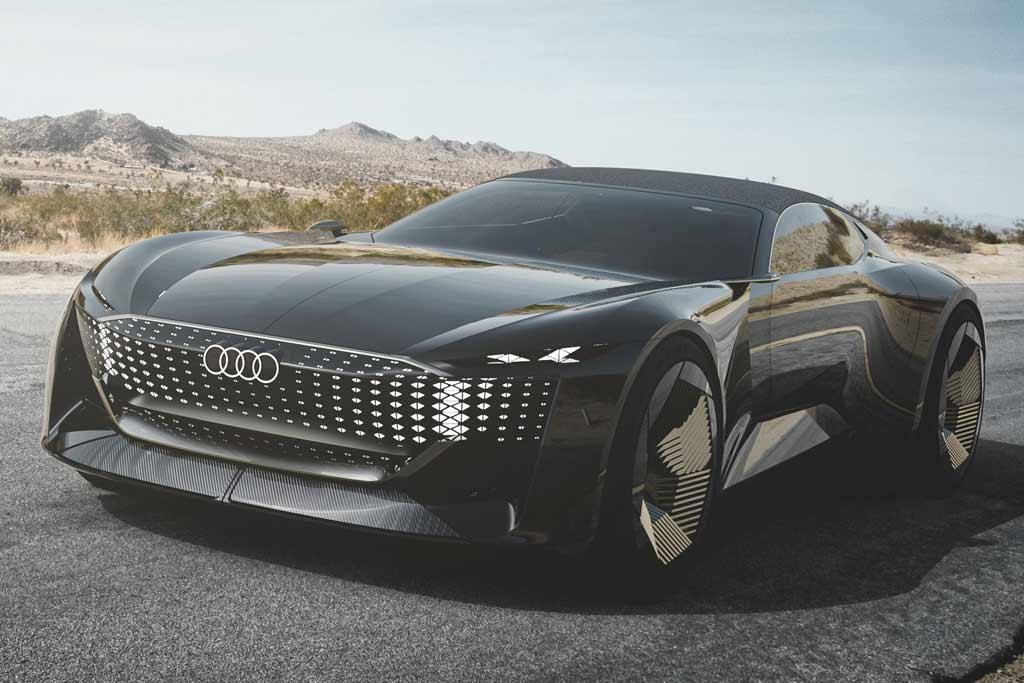 Audi Skysphere Concept: электрокар с изменяемой колесной базой