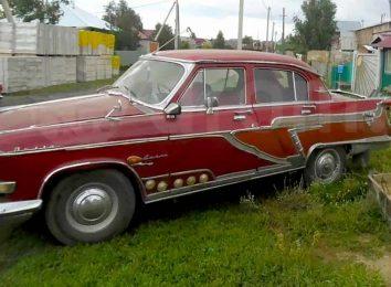 Колхозный ГАЗ-21