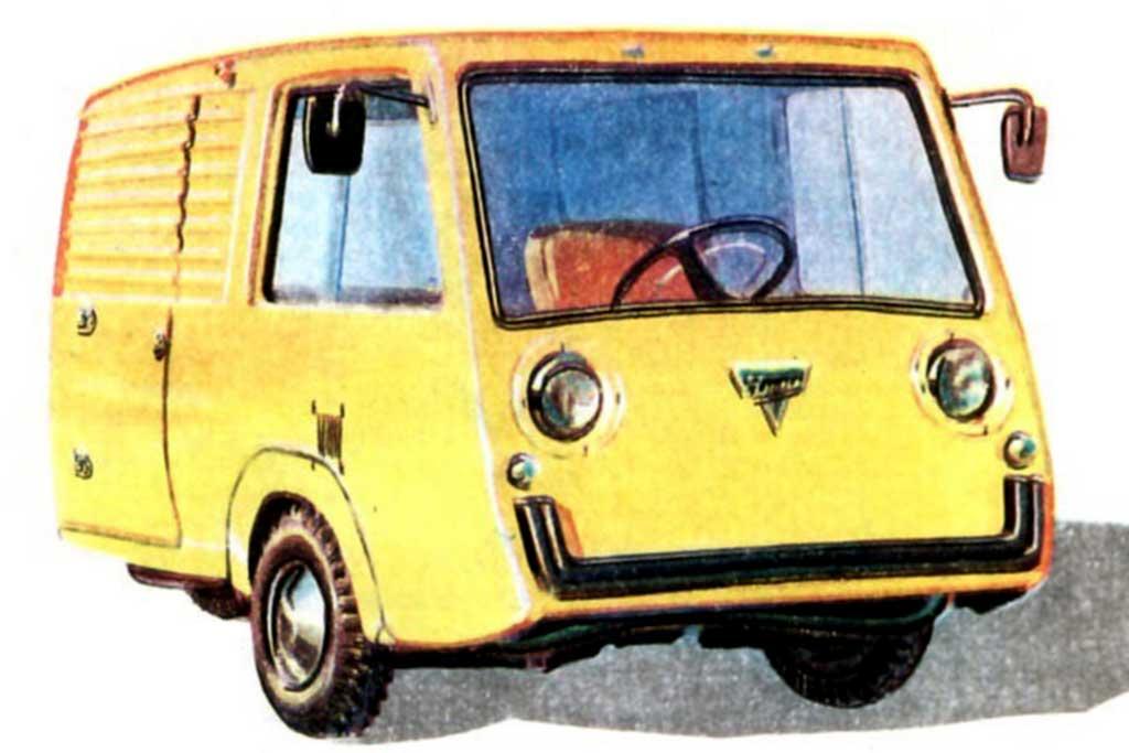 Советский микрогрузовичок «Чижик-пыжик»: мотоколяска ТГК‑250