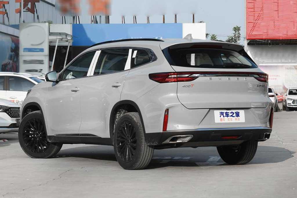 Кроссовер Exeed TXL в Китае получил версию 400T с мощным турбомотором