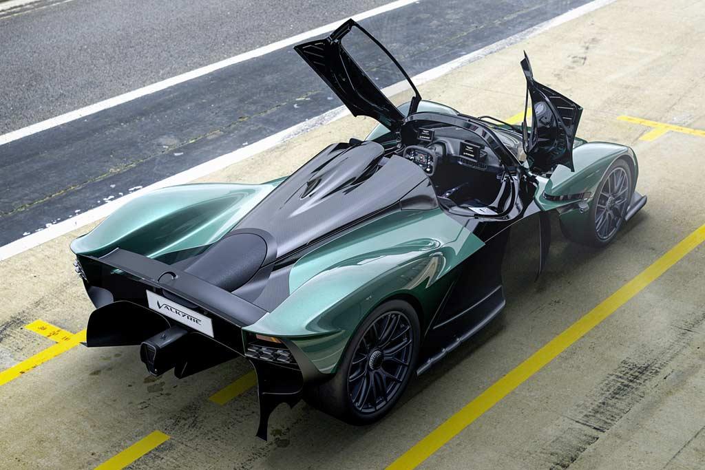 Aston Martin Valkyrie V12 Spider