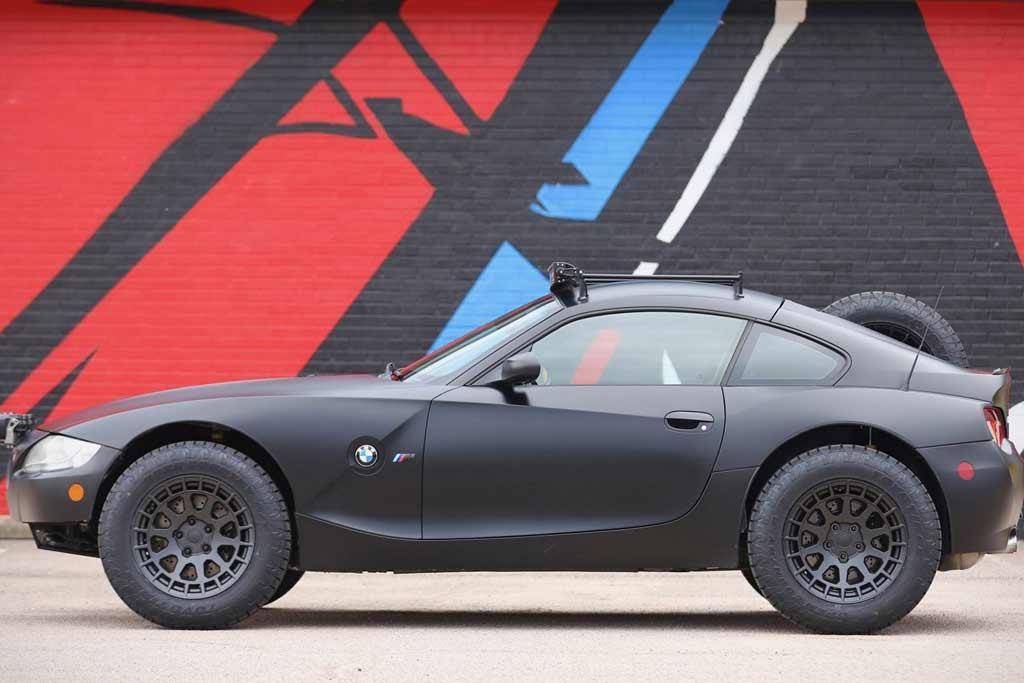 С молотка пустят необычную внедорожную двухдверку на базе BMW Z4 M Coupe