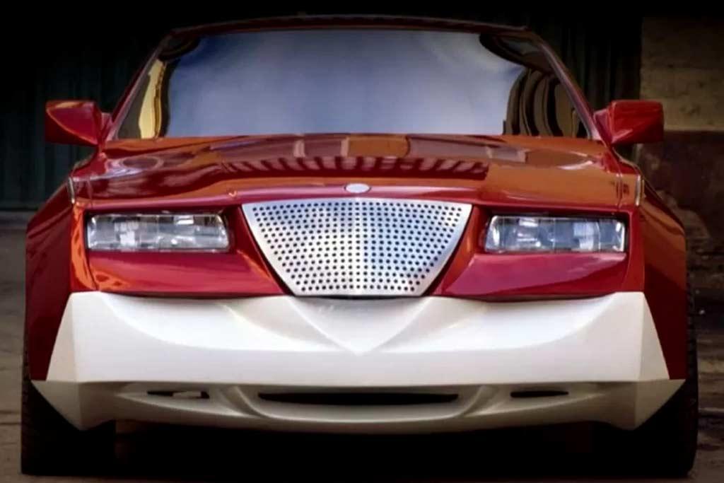 Необычный российский проект Cardi Coupe: концептуальный спорткар из девяностых