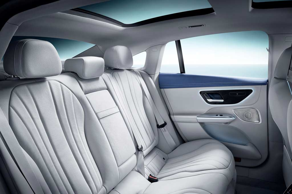В Мюнхене представлен новый электрический седан Mercedes-Benz EQE
