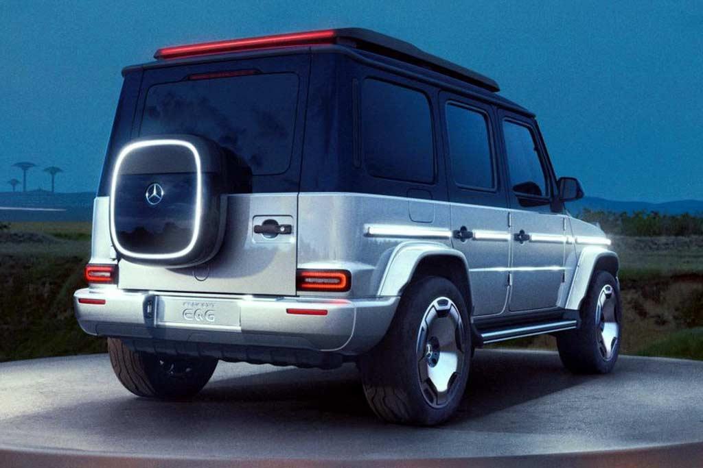 Mercedes EQG Concept: так будет выглядеть электрический Гелендваген