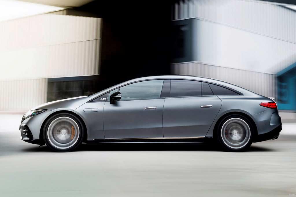 Mercedes-AMG EQS 53 стал первой серийной моделью суббренда АМГ