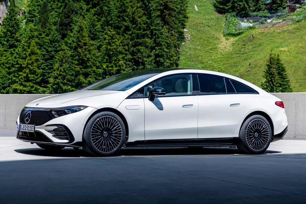 Mercedes привезет в Россию две электрические модели: одну уже скоро