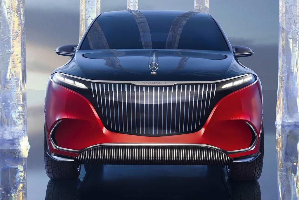 Немцы показали предсерийный электрический Mercedes-Maybach EQS SUV