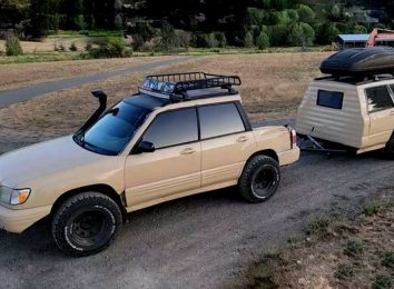 Subaru Forester Ute