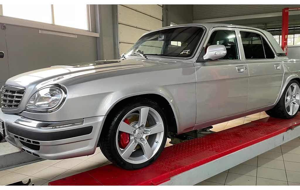 Обычную с виду Волгу продают за ₽2,3 млн: однако здесь мотор на 1150 л.с.