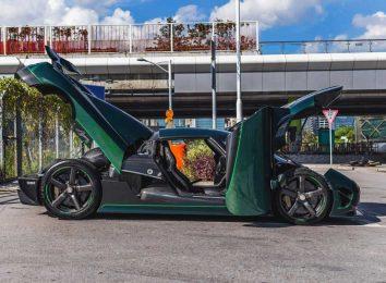 Темно-зеленый Agera S