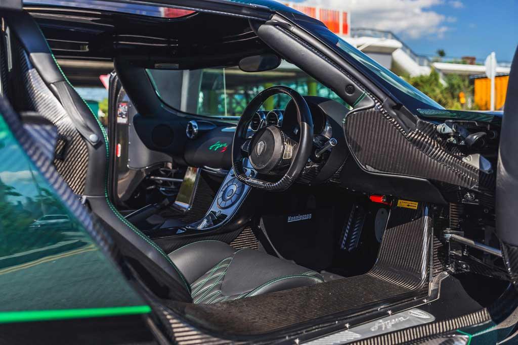 Торги за темно-зеленый Koenigsegg Agera S перешагнули отметку в 70 млн рублей