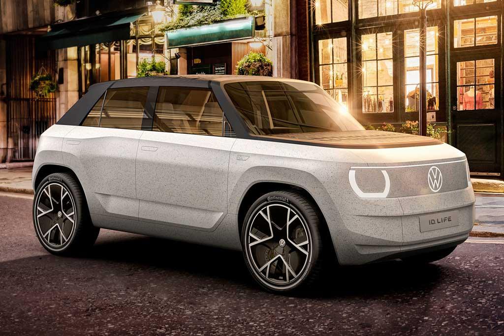 VW ID.Life дал представление о будущем электрокаре начального уровня