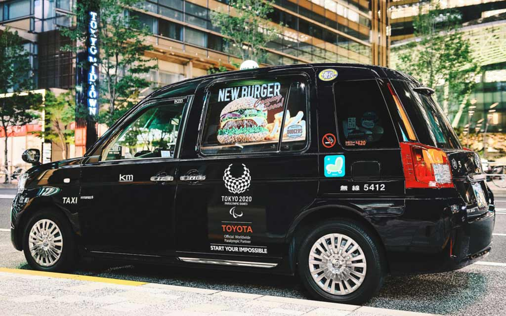 В Японии оказались востребованы услуги такси, которые никуда не везут