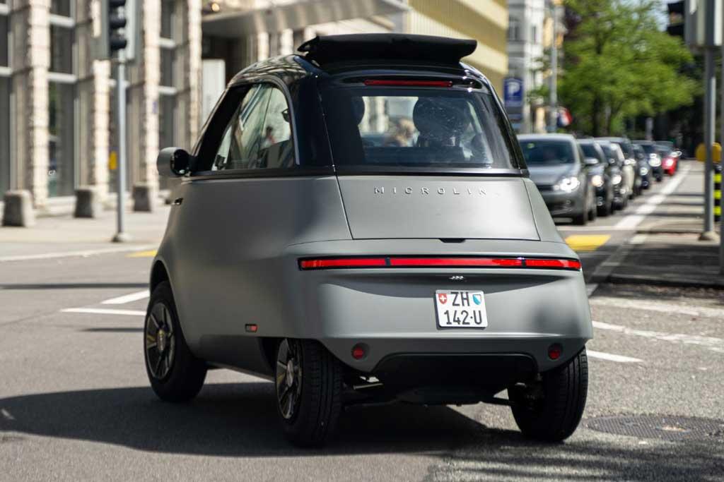 Бабл-кар Microlino 2.0: идейный наследник Isetta готов к запуску в серию