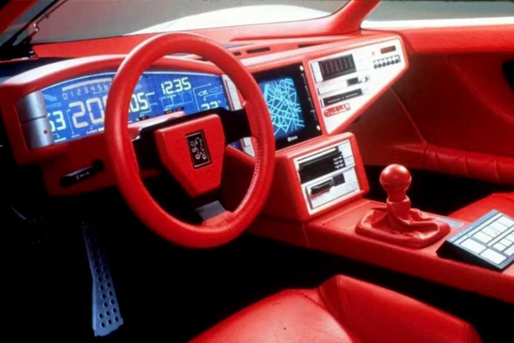 Peugeot Quasar: эффектный концепт 1984 года с 600-сильным мотором