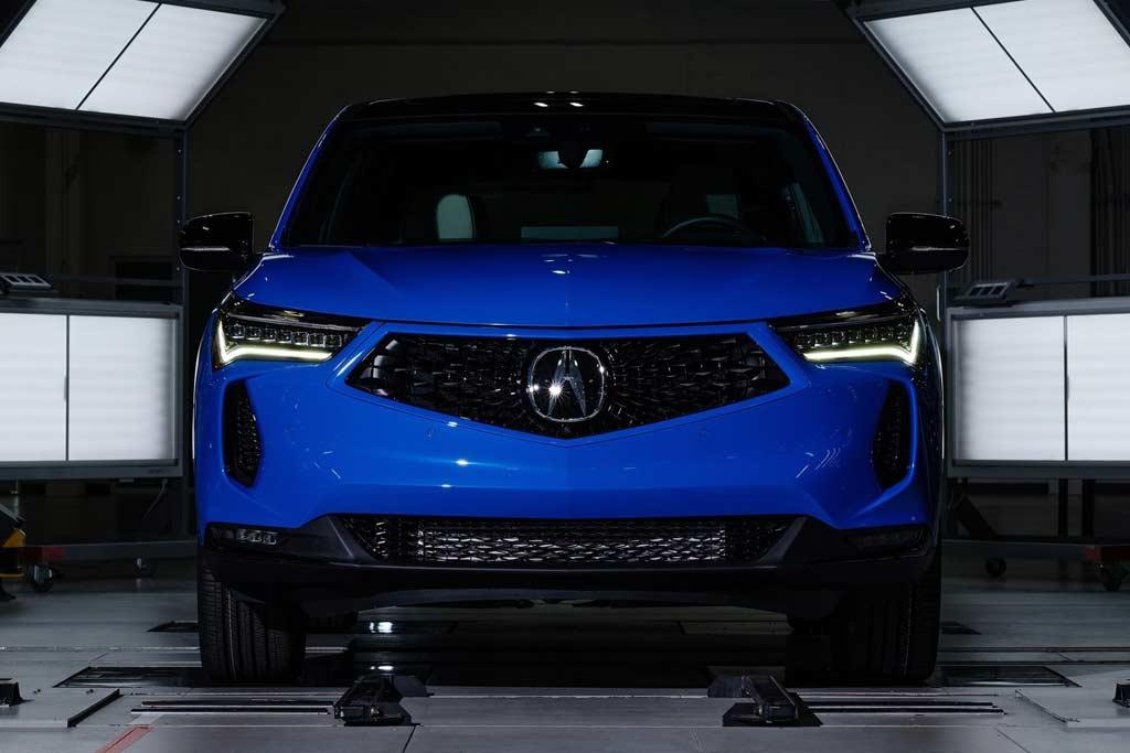 Acura RDX 2022: измененная внешность и улучшенная шумоизоляция салона
