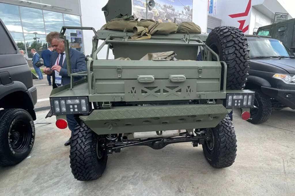 Военные провели успешные испытания багги Сармат-2 на базе Нивы