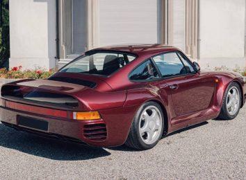 Porsche 959 Komfort 1989 года