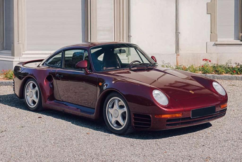 Особый Porsche 959 шейха Катара планируют продать минимум за 120 млн рублей