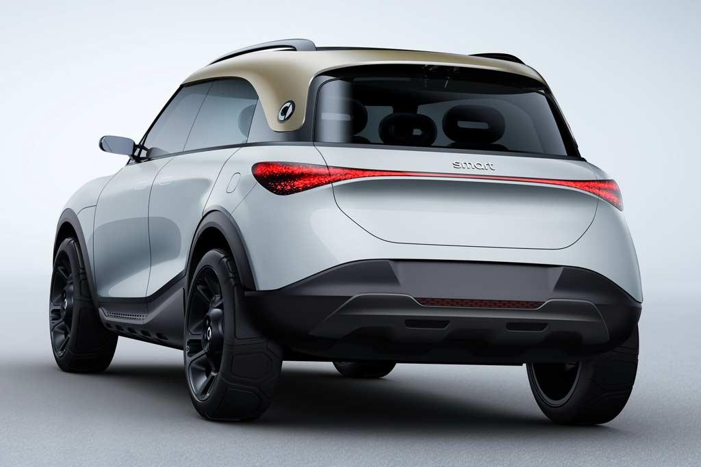 Кроссовер Smart Concept #1 дал представление о будущих моделях бренда