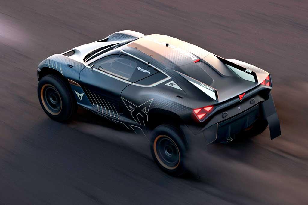Представлен гоночный электрический внедорожник Cupra Tavascan Extreme E