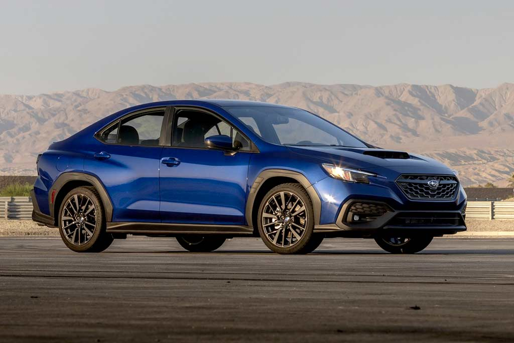 Subaru WRX 2022 нового поколения оказался родственником модели Levorg