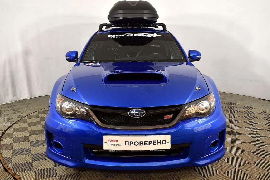 Гражданский Subaru Impreza WRX STi адаптировали для участия в ралли