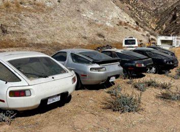 Брошенная коллекция Porsche