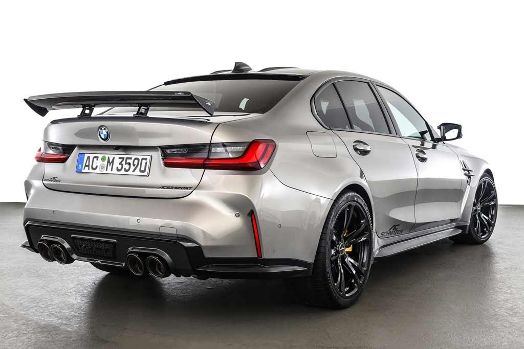 BMW M3 Competition (G80) обзавелся обвесом от AC Schnitzer и стал мощнее