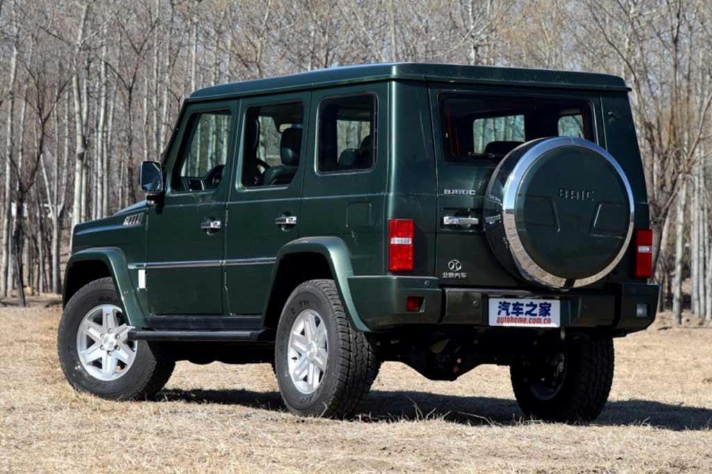 BAIC Beijing BJ80: бюджетная копия Mercedes G-Class из Китая