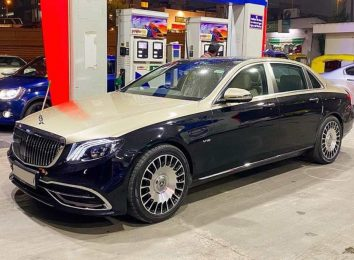 Mercedes E-Class в стиле Майбах