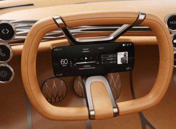 Экран на руле