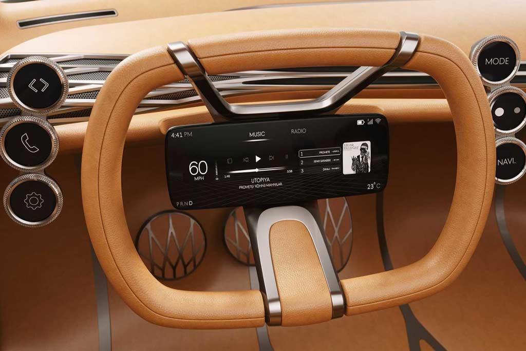 Hyundai может отказаться от стандартной приборки в пользу монитора на руле