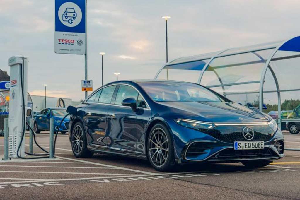 Дальность хода электрического Mercedes EQS оказалась ощутимо ниже заявленной
