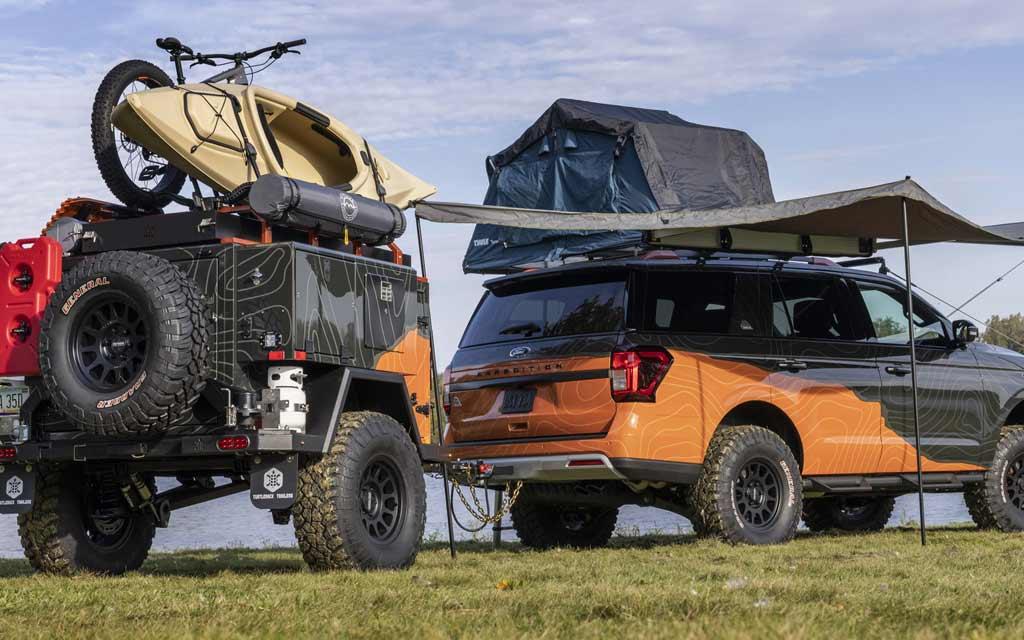Ford Expedition в исполнении Timberline подготовили к покорению бездорожья