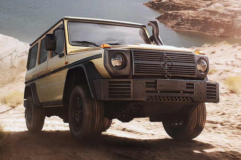 Внедорожник Mercedes-Benz G-Class обзавелся армейской модификацией W464