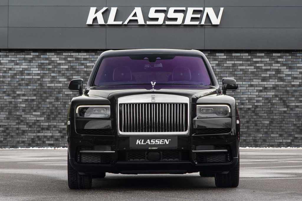 Rolls-Royce Cullinan получил бронированную модификацию от ателье Klassen
