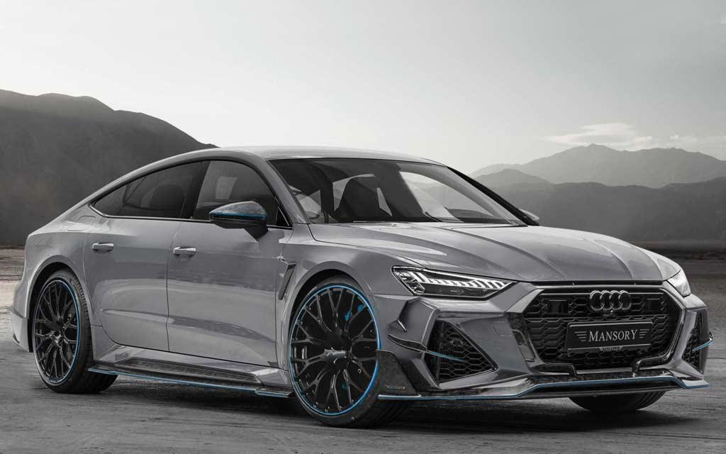 Audi RS7 Sportback II получил комплексный тюнинг-кит от ателье Mansory