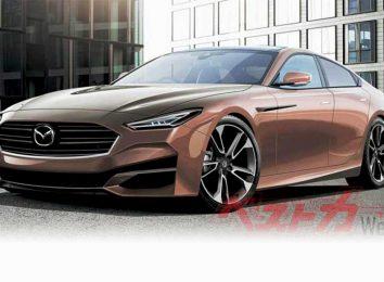 Рендер Mazda 6 2023