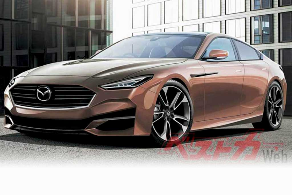 Революционный седан Mazda 6 нового поколения представят в 2022 году