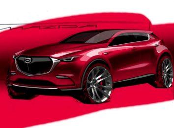 Рендер нового Mazda SUV
