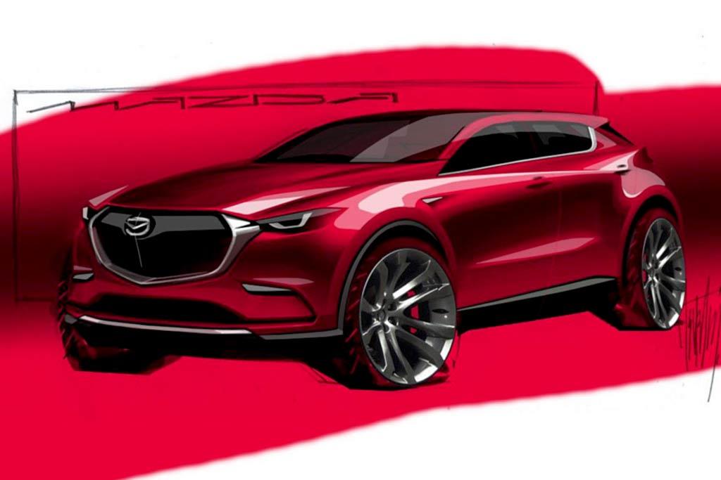 Mazda готовит сразу пять новых кроссоверов: причем в самое ближайшее время