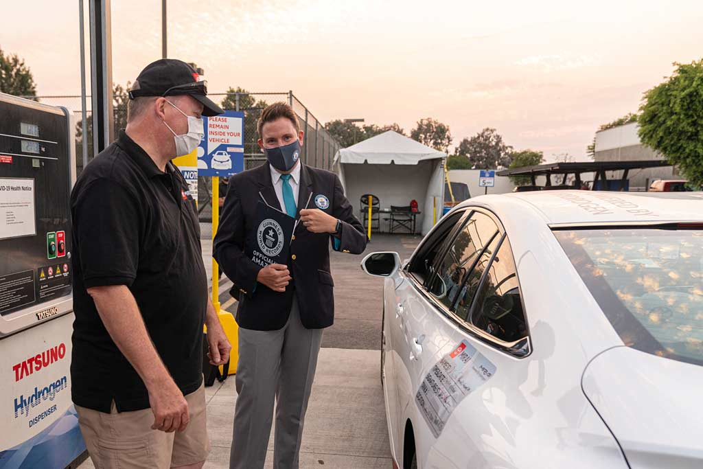 Водородный Toyota Mirai установил рекорд Гиннесса по дальности поездки на одном баке