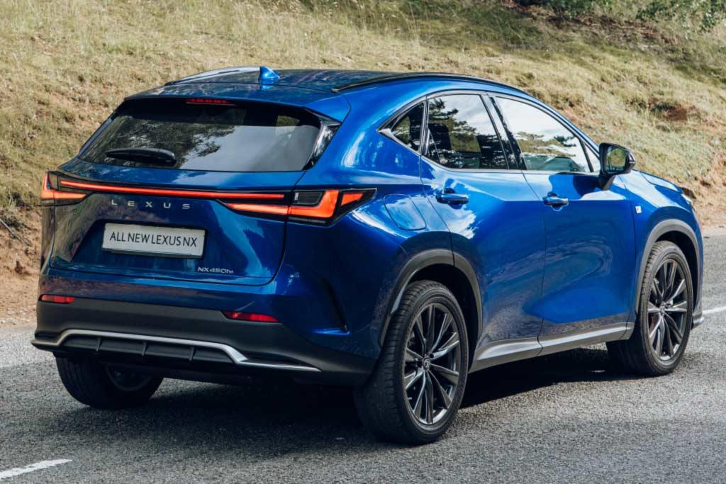 Новый Lexus NX 2022 для России: известны комплектации и линейка двигателей