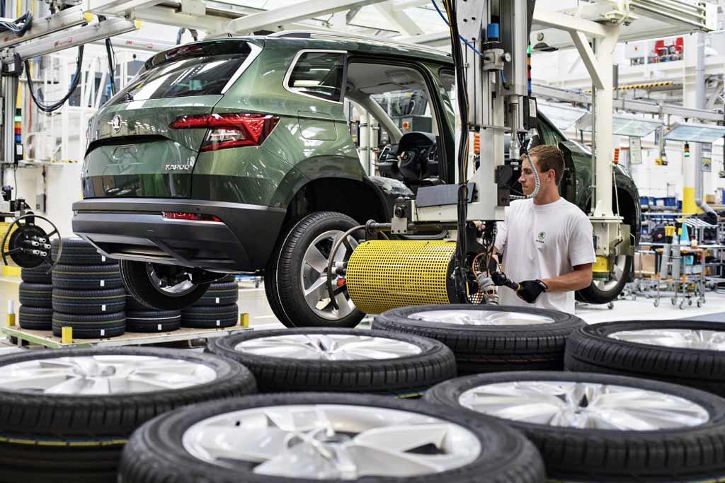 Выпуск новых автомобилей Skoda в Чехии могут приостановить до конца года