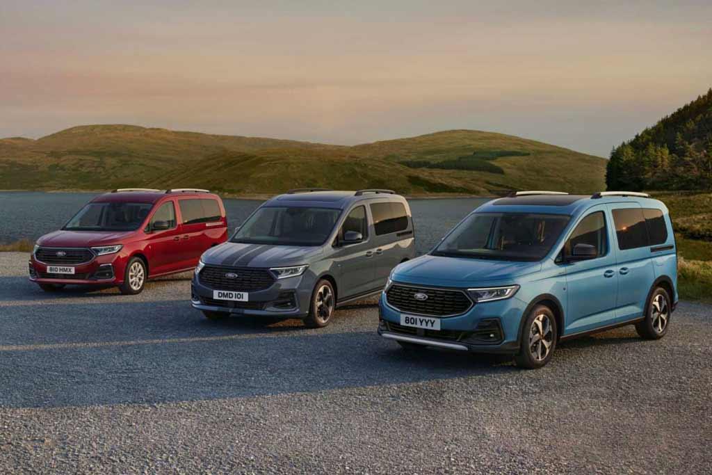 Новый Ford Tourneo Connect 2022 оказался перелицованным вариантом VW Caddy